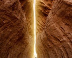 Tunnel of Light in Petra - Jordan